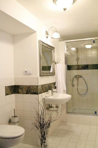 Łazienka w pokoju dla dwojga