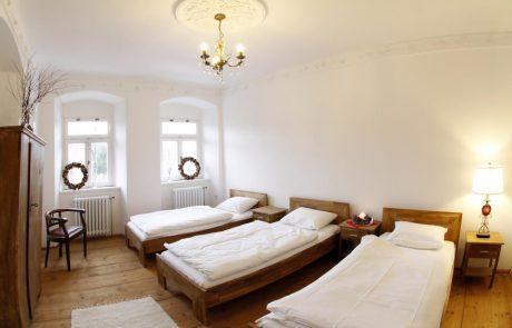 Sypialnia w apartamencie 2