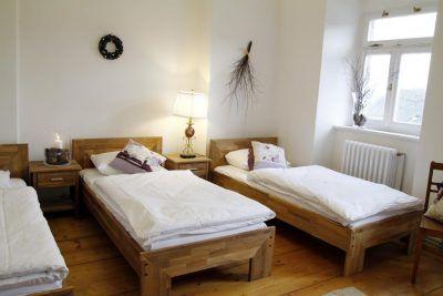 Sypialnia w apartamencie 1