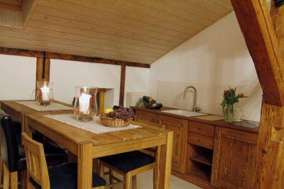 Aneks kuchenny w apartamencie 7