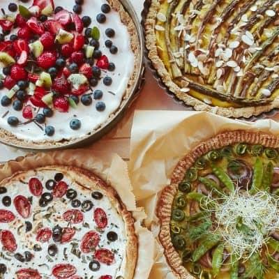 BioRezydencja poleca: tarty warzywne
