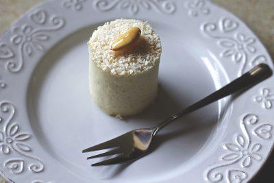 Wegański deser z Cafe Wolna