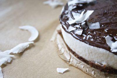 Wegańskie ciasto z Cafe Wolna